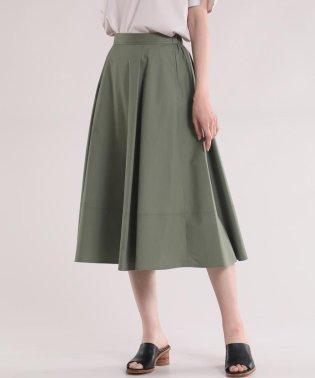フレアロング丈スカート