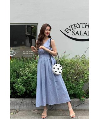 ◆2Way麻ロングドレス