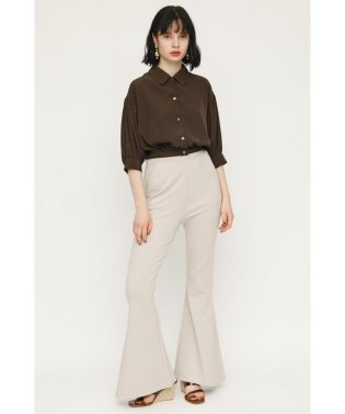 SIDE TUCK SLIM FLARE PT