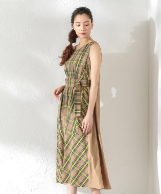【LOVELESS】WOMEN 2wayチェックリボンドレス