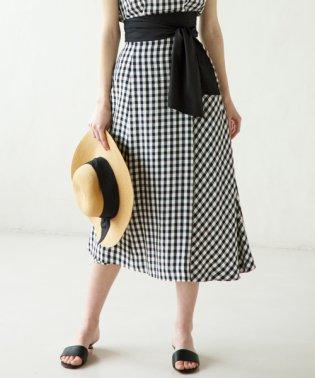 【セットアップ対応商品】Ace/Visギンガム スカート