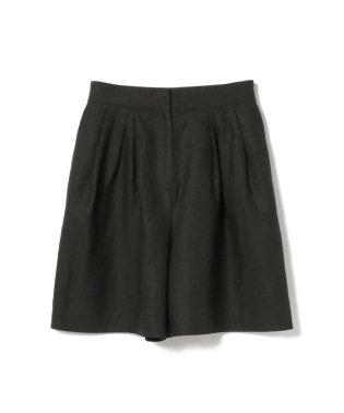 【CLASSY.8月号掲載】【洗える】Demi-Luxe BEAMS / リネン ショートパンツ