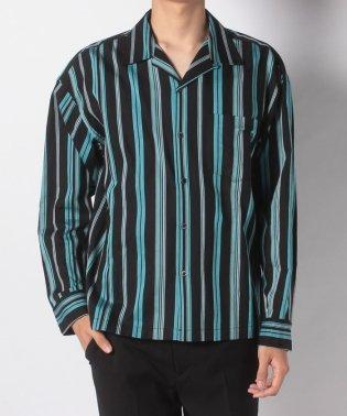 C/L/テンセル オープンカラーシャツ