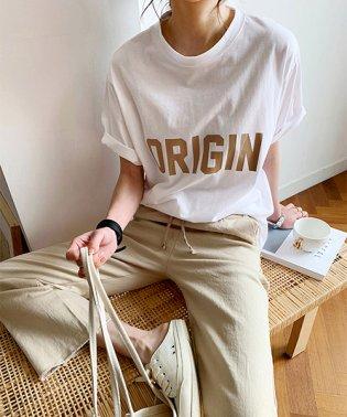 NANING9(ナンニング)ORIGIN半袖Tシャツ