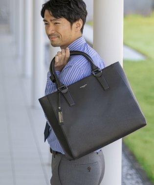 【MAGASEEK/d fashion別注】KATHARINE HAMNETT 本革トートバック