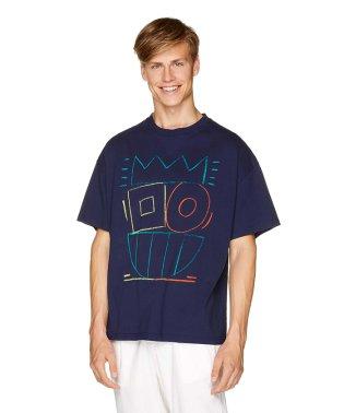 FABRICAドローイング半袖Tシャツ・カットソー