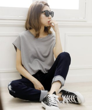 【Doula Doula】サマーニット サマーニットトップス/Tシャツ/カットソー/夏/ビーチ/サンダル
