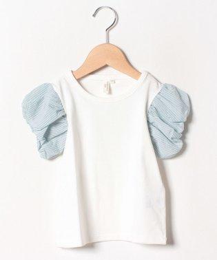 バルーン袖Tシャツ