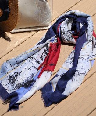 ぼかし柄スカーフ