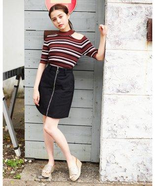 前ZIP台形スカート