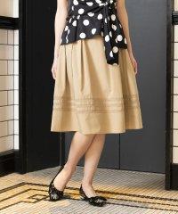 【はっ水】【ウォッシャブル】タイプライタースカート