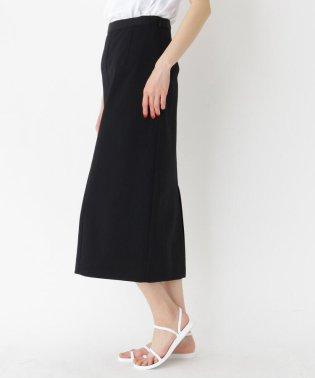 バックスリットストレッチミディタイトスカート