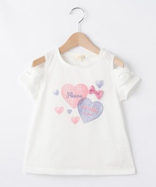 【120-160cm】吸水速乾/ショルダースリットAラインTシャツ