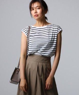 【洗える】アリオリティ ボーダーフレンチTシャツ