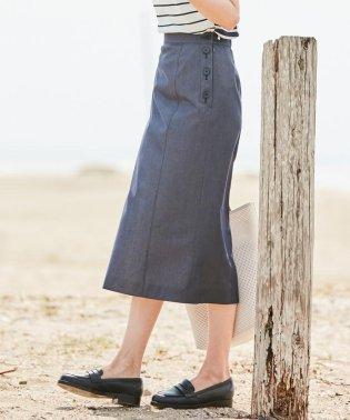 【色落ちしにくい】TENCEL DENIM スカート