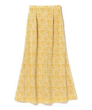 Ray BEAMS / フラワー プリント ロングスカート