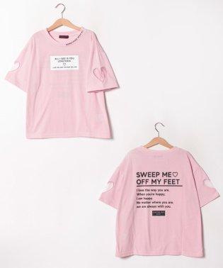 衿ロゴガーリーTシャツ