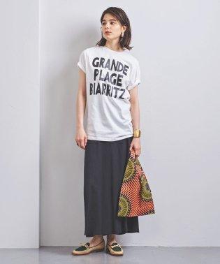 別注<m's braque(エムズ ブラック)>BIARRITZ プリントTシャツ