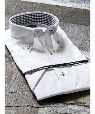 形態安定吸水速乾レギュラーフィット ボタンダウン半袖シャツ