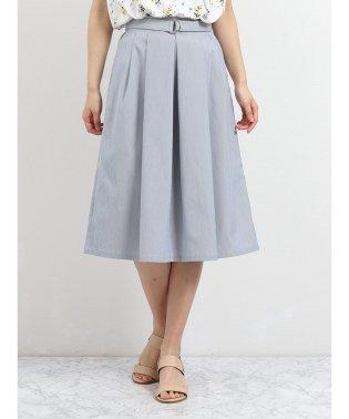 コードレーンD管ベルトフレアースカート