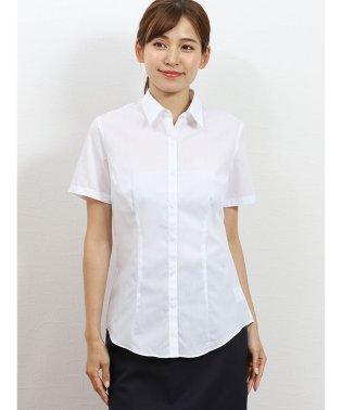 形態安定レギュラーカラー半袖シャツ