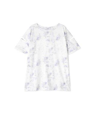 タイダイ風プリントTシャツ