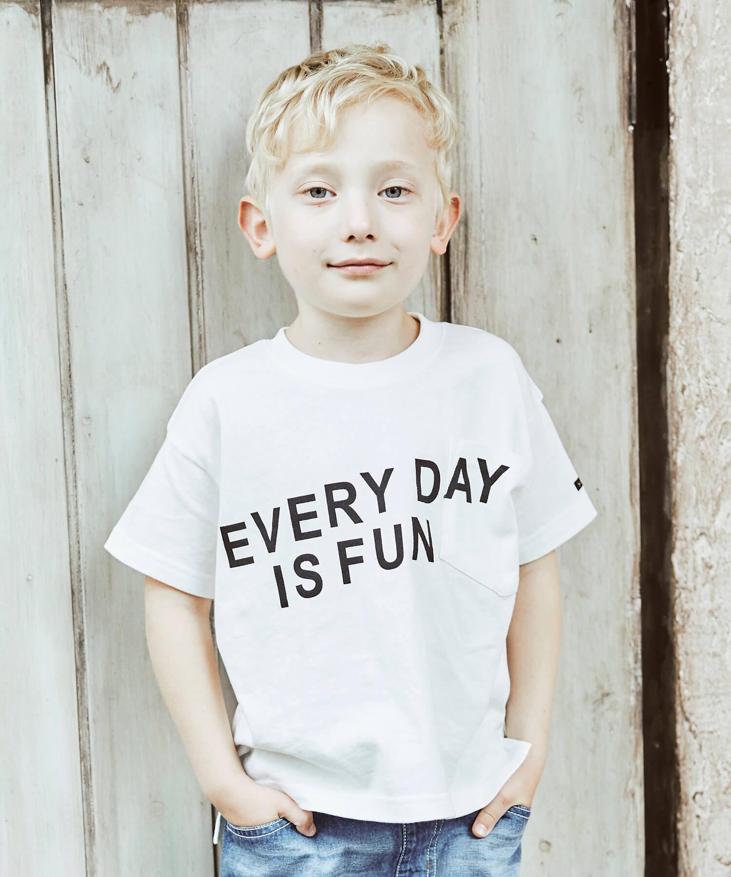 ロゴプリント半袖Tシャツ(80~150cm)