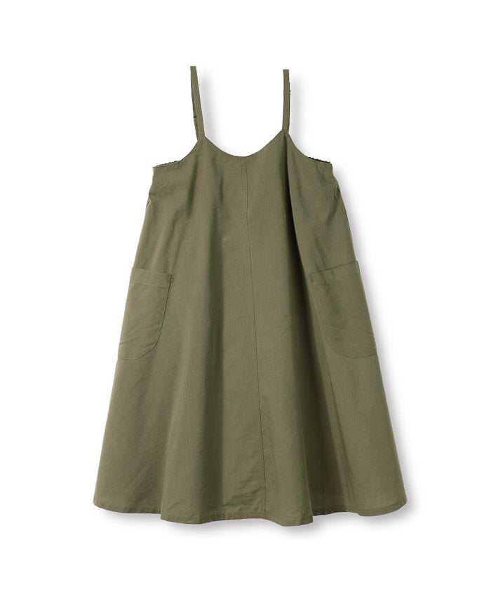 綿レーヨンジャンパースカート(90~140cm)