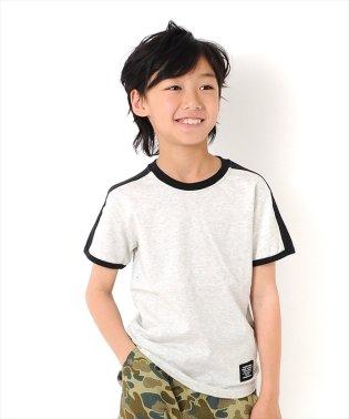 肩ライン半袖Tシャツ