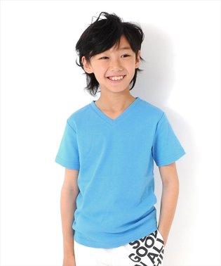 フライスバックプリント半袖Tシャツ