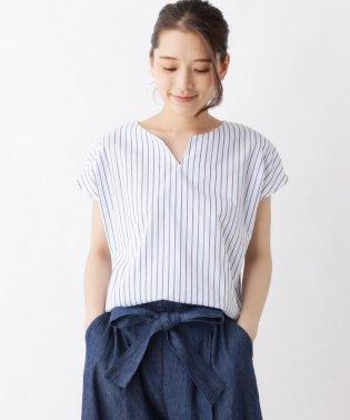 【防シワ】マルチストライプシャツ