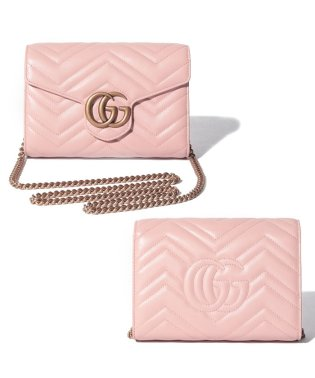【GUCCI】チェーンショルダー / GG MARMONT  【PERFECT PINK】