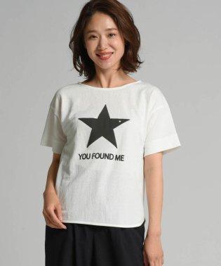 BACK STARプリントプルオーバー