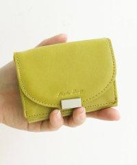 Legato Largo フェイクレザー三つ折りミニ財布