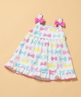 【ROPE' PICNIC KIDS】【Orange bonbon】スイムワンピース