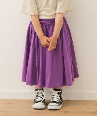 カットギャザースカート(KIDS)