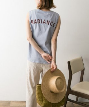 BACKロゴプリントTシャツ