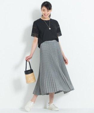 【洗える】HANATWIST CHECK プリーツスカート