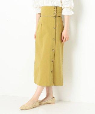 パイピングロングスカート