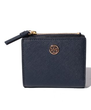 【TORY BURCH】2つ折り財布/ROBINSON【ROYAL NAVY】