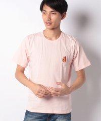 【TVドラマ着用】【INCREWSIVE】6.5オンス コットン ワンポイント刺繍Tシャツ