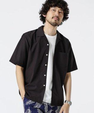 マルチミックスヤーンオープンカラーシャツ