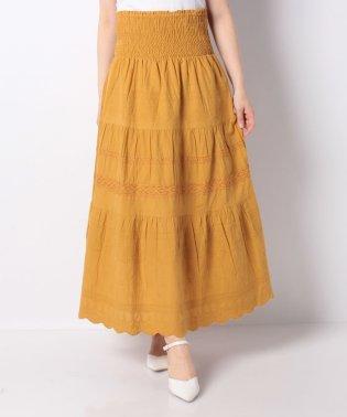 インド綿2wayスカート
