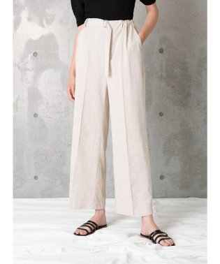 Linen Straight Slacks