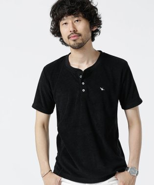 1PIU1UGUALE3RELAX:別注パイルヘンリーTシャツ
