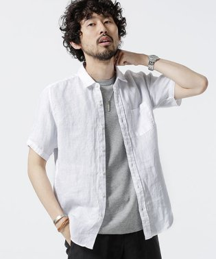 Herdman Linenシャツ SS
