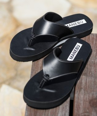 【別注】 <MANEBU> LEATHER HANAO SANDAL/サンダル