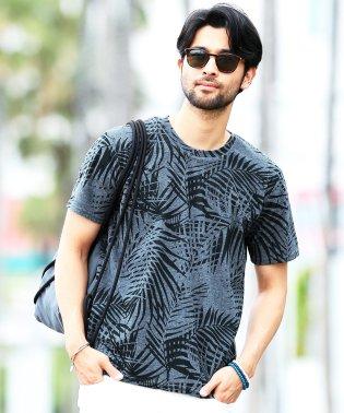 サマーパイルTシャツ / Tシャツ 半袖 パイル プリント ティーシャツ