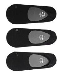 Healthknit(ヘルスニット)Ag+ 抗菌加工無地インステップソックス 3足セット/靴下 メンズ ソックス ショートソックス くるぶし