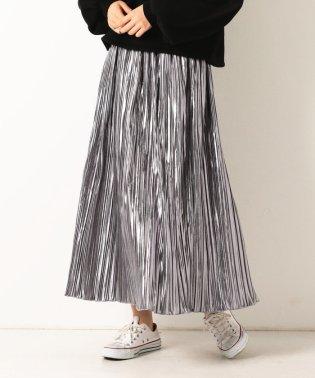 プリーツクロスマキシスカート